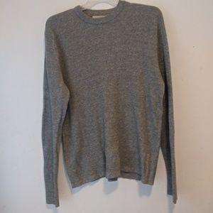 L.O.G.G H&M thermal sweater top sz L